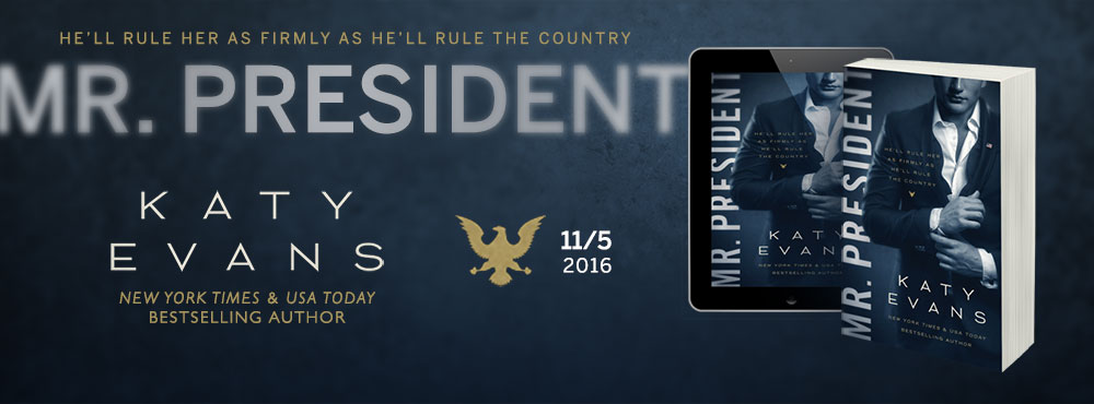 Available November 5, 2016: MR. PRESIDENT